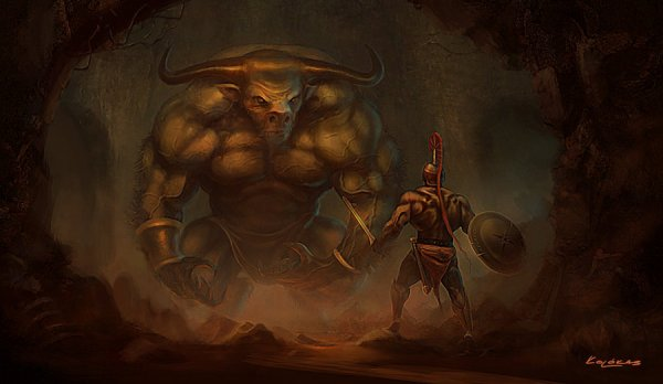 theseus_and_the_minotaur_by_kolokas-d30sj9n